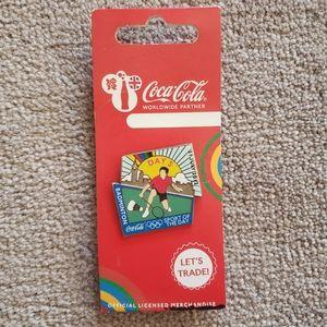 Coca cola london 2012 olympic pin